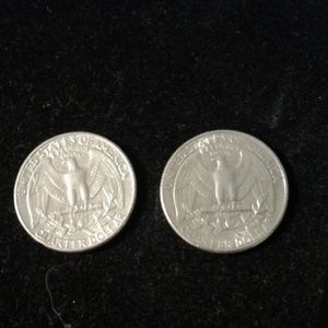 Other - 2 Washington Silver Quarters